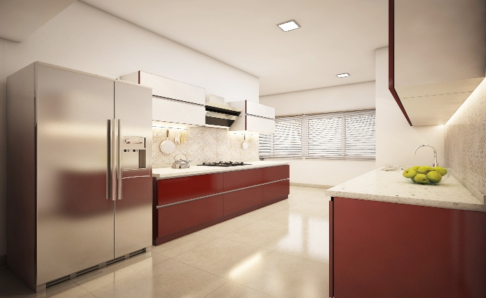 home interiors modular kitchen
